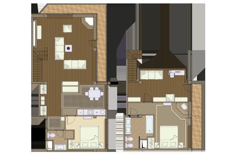 План апартаментов №9 - Aspen